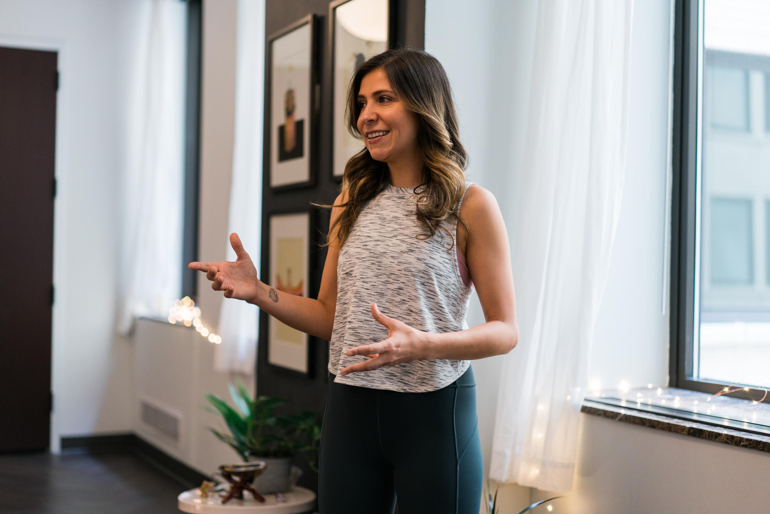 Lauren Bellagamba, Yoga Teacher