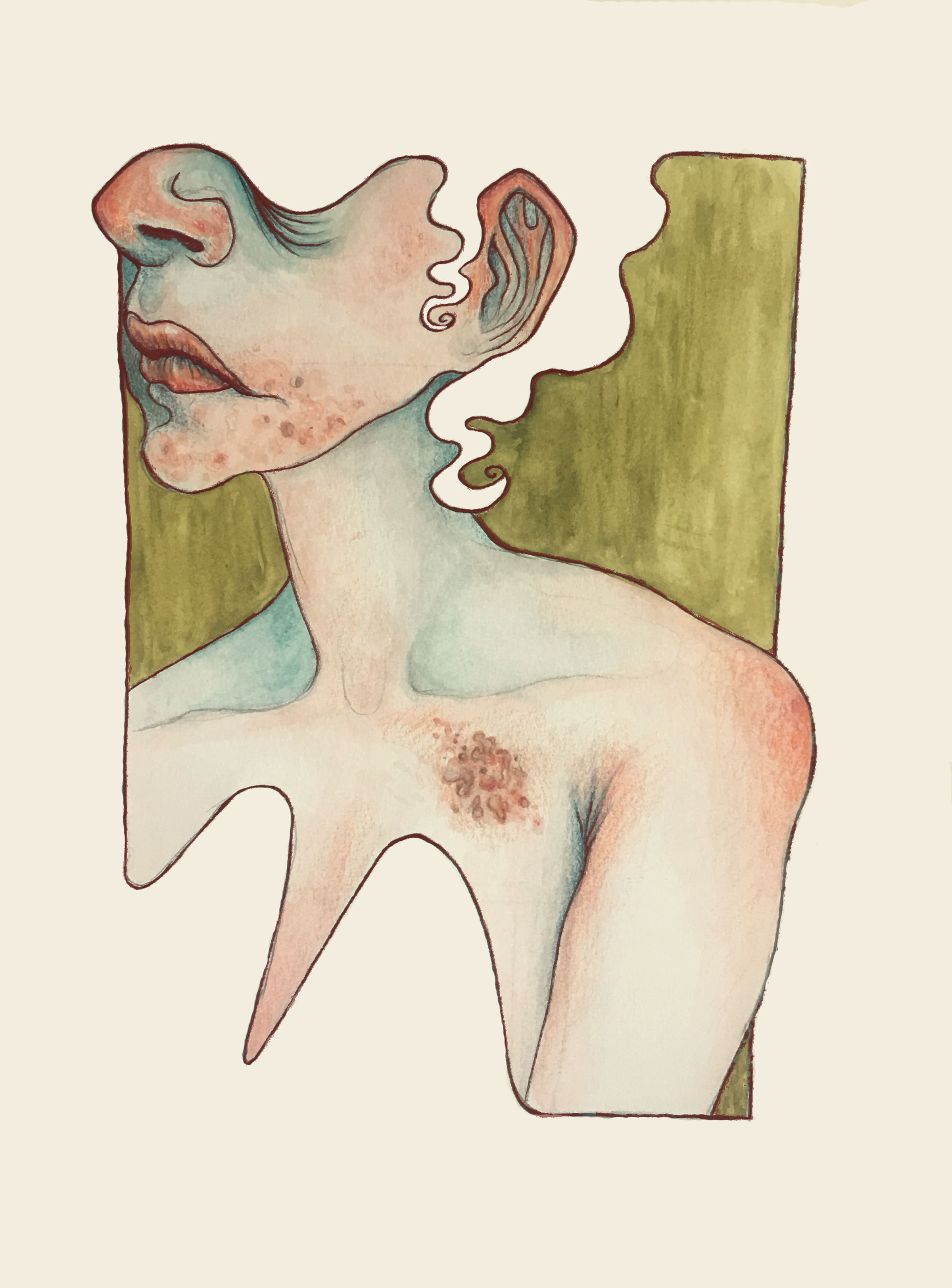 - There is a subtle sinTo the reflection inThin glass.Bite and sipA quivering lip; taste brassBitter and tartBirthmark heart;BurnAn authentic identity seemingly free; is learned.Hush.You are the stranger you cannot trust.