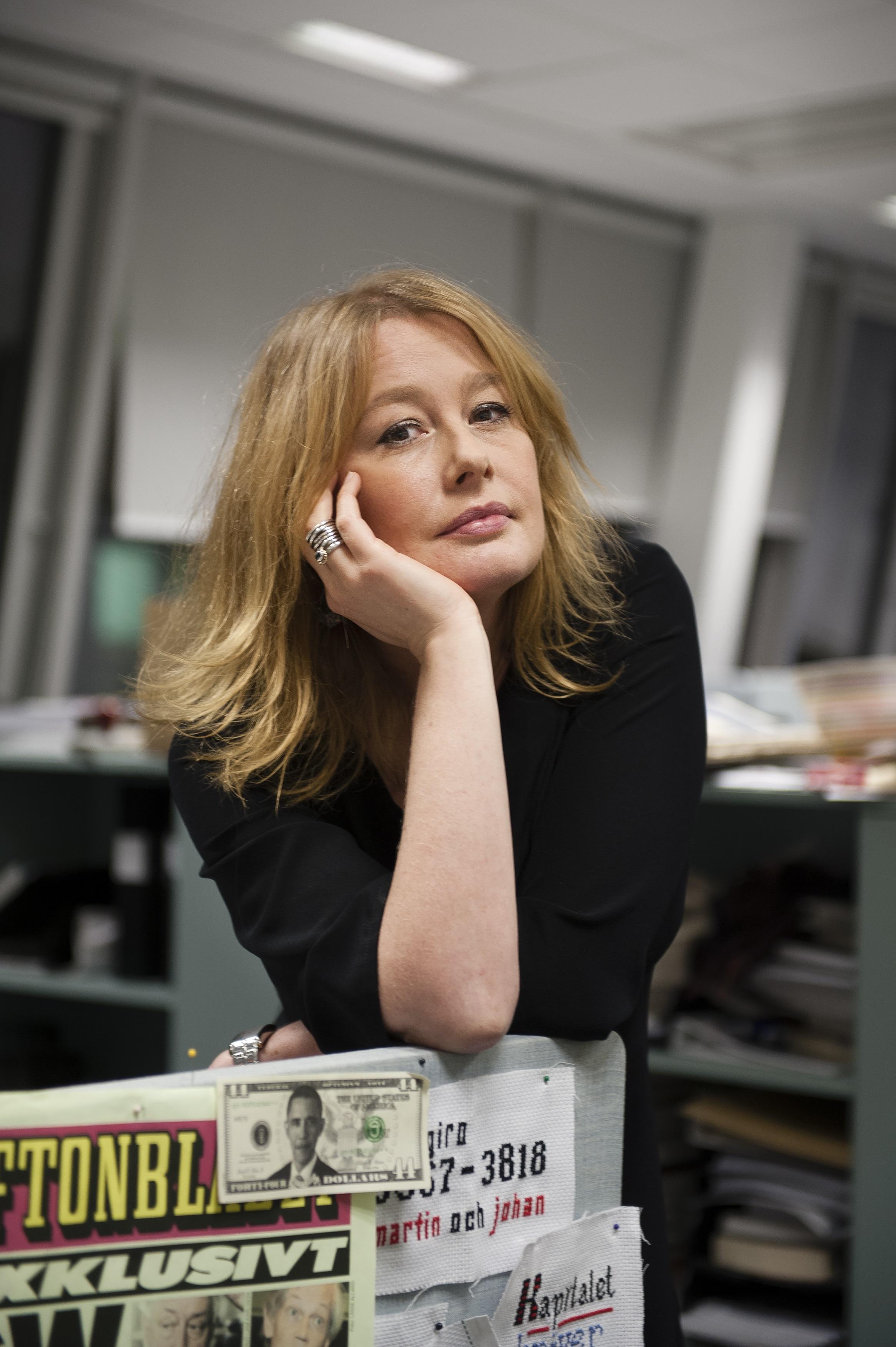 Åsa Linderborg, kulturredaktør i den svenske avisa Aftonbladet.Foto: Felipe Morales