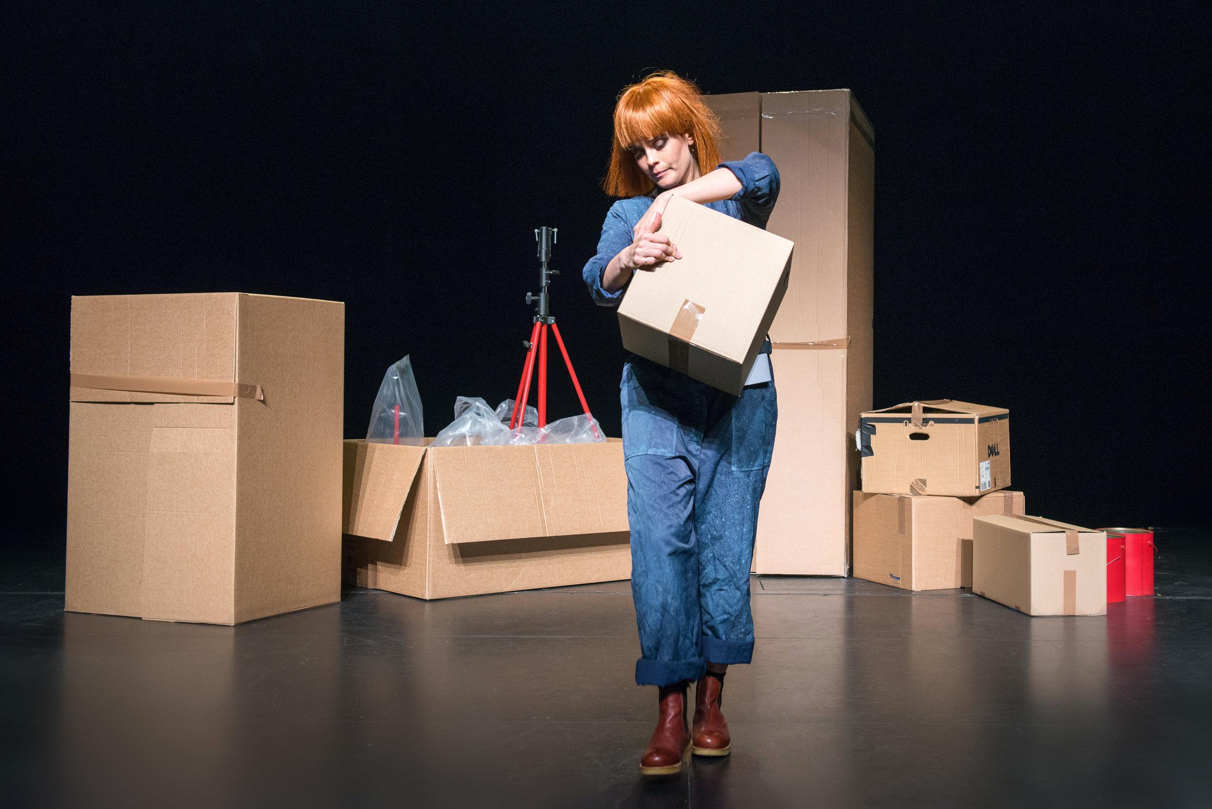 """""""Teaterkonsert How"""":  Mareike Wang ble forestillingens dronning. (Foto: Rogaland teater)"""