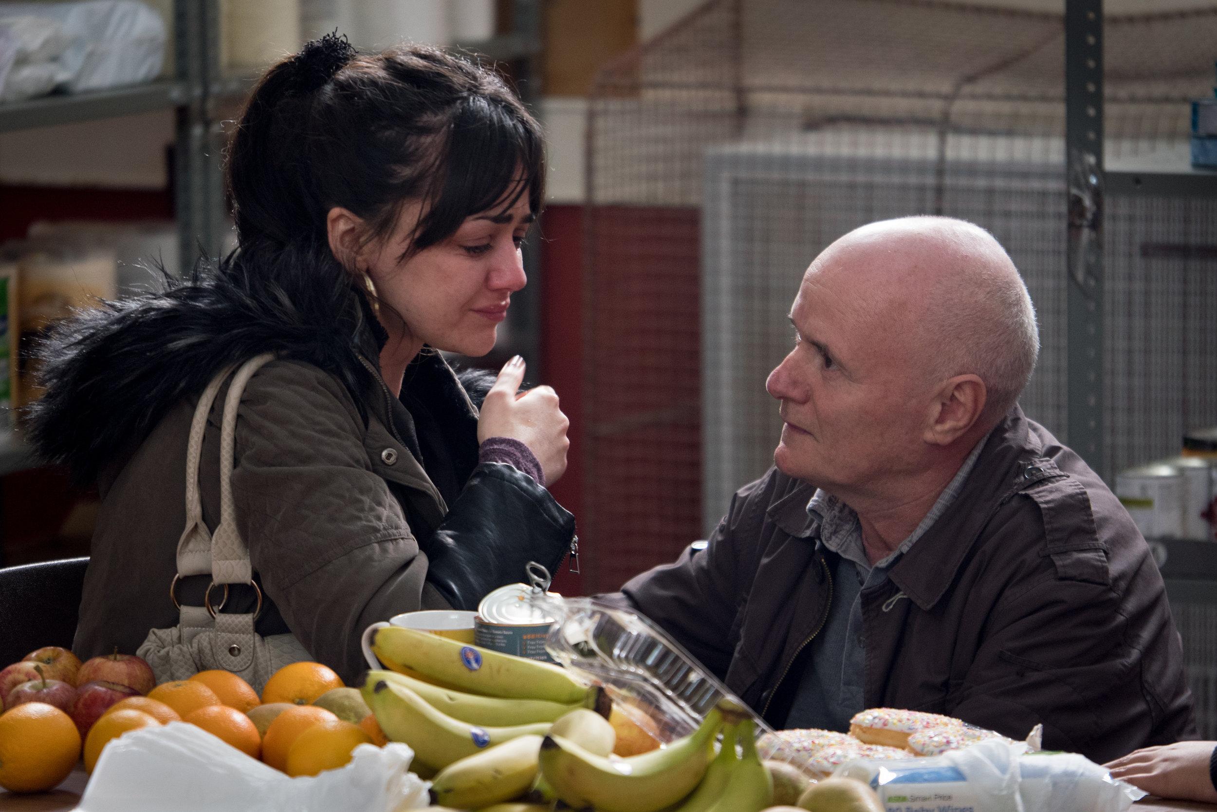Hovedpersonene Daniel (Dave Johns) og Katie (Hayley Squires)er alminnelige, anstendige borgere som ønsker å opprettholde et verdig liv.