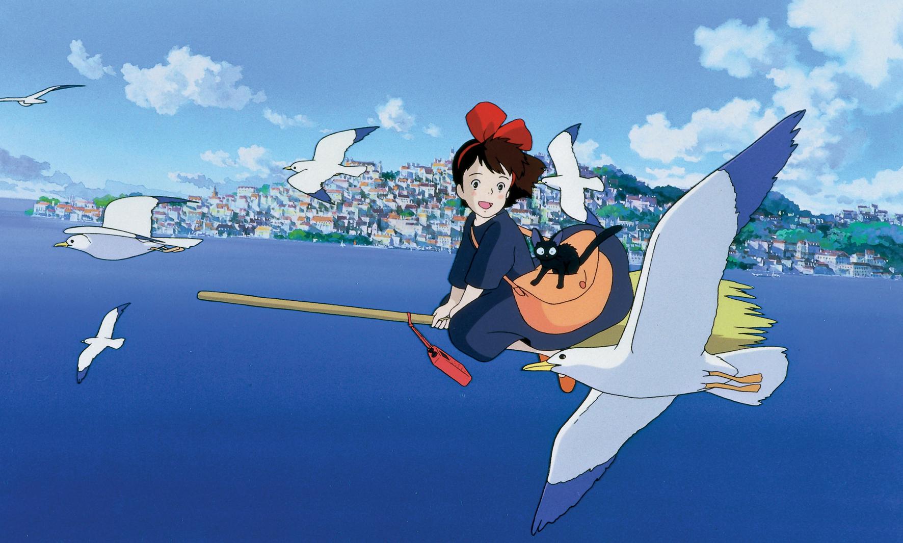 Kiki finner en vakker by ved havet og oppretter sitt eget budfirma for å levere varer til utålmodige kunder.