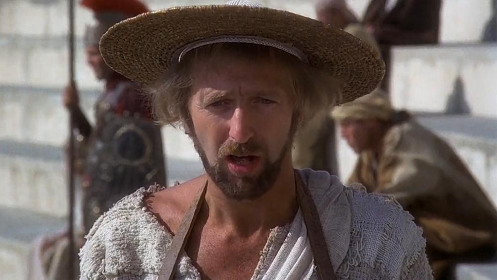 I filmen  Life of Brian  angrep Monty Python-gjengen religiøs praksis og tullet med folks manglende evne til å bli enige om noe som helst.