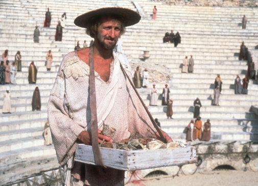 Brian (Graham Chapman) blir ufrivillig utpekt til Messias.