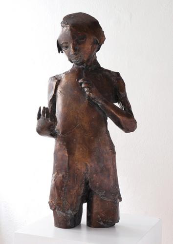 Junge, Bronze, 2007, 80 cm