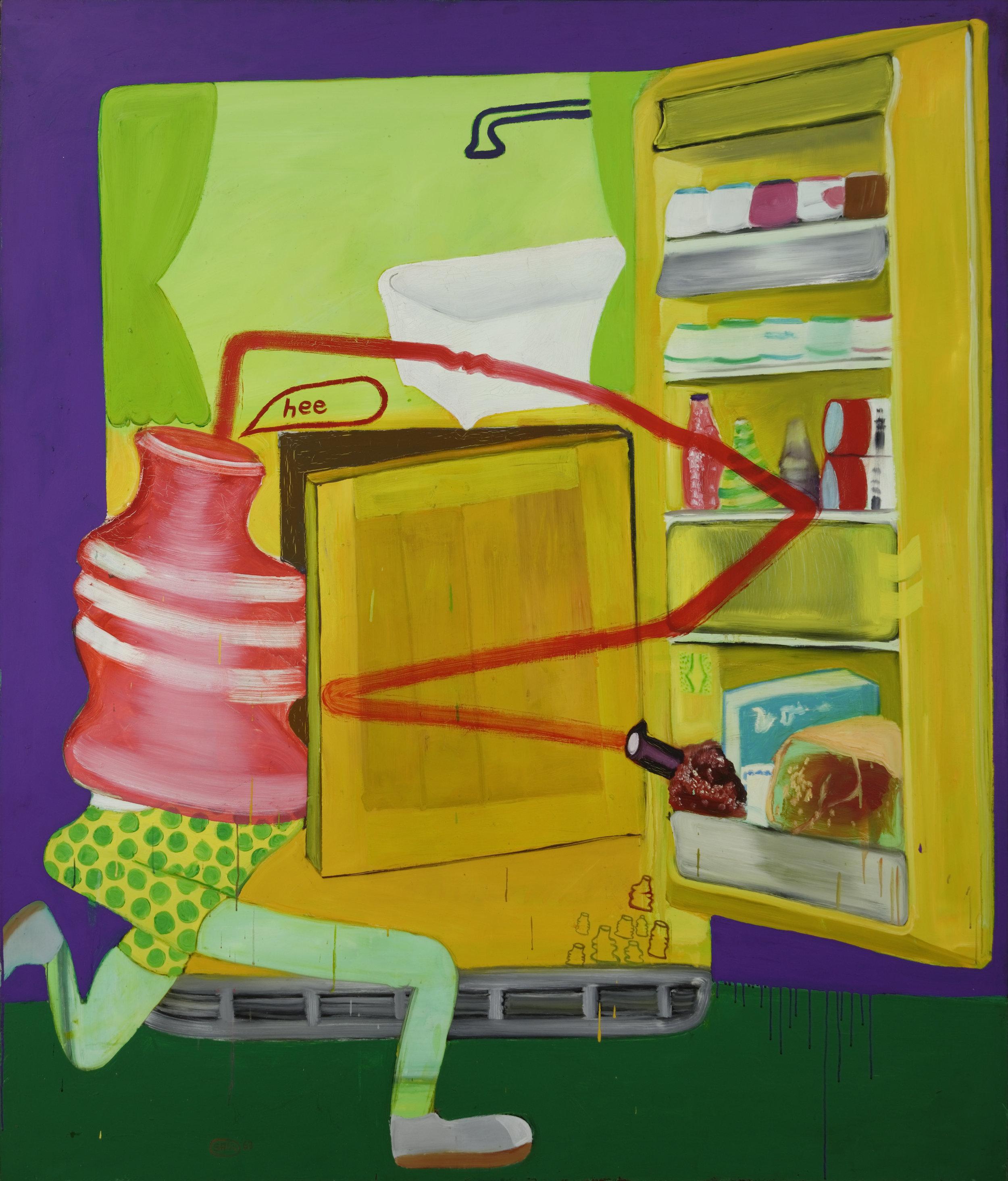Ice Box 8, 1963, Öl auf Leinwand