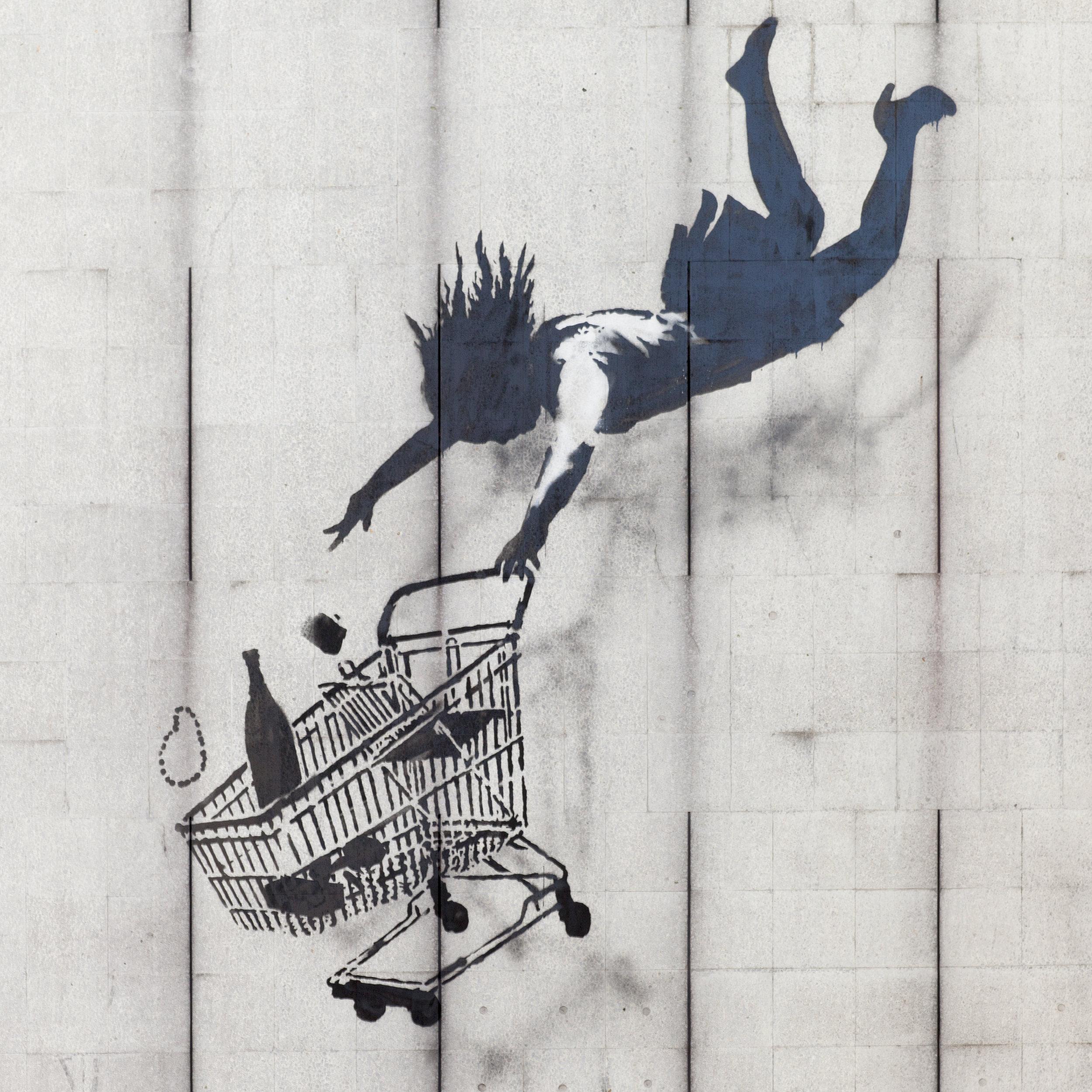Street Art von Banksy
