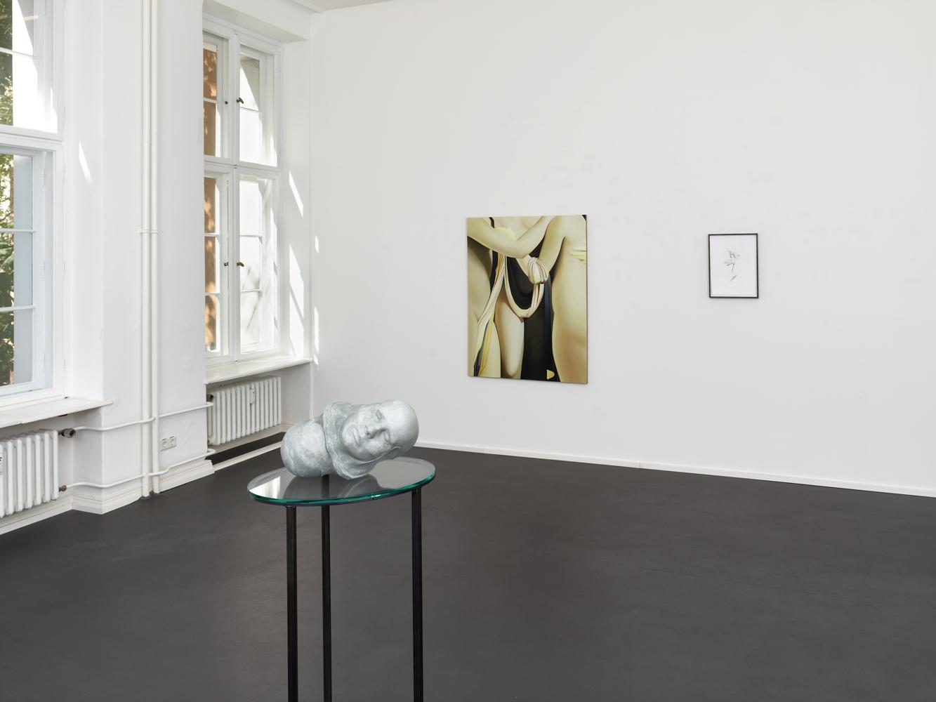 Vivian Greven, GRAZIA, Installationsansicht, Aurel Scheibler, 2017. Vivian Greven, Courtesy Aurel Scheibler, Berlin. Foto: Eric Tschernow