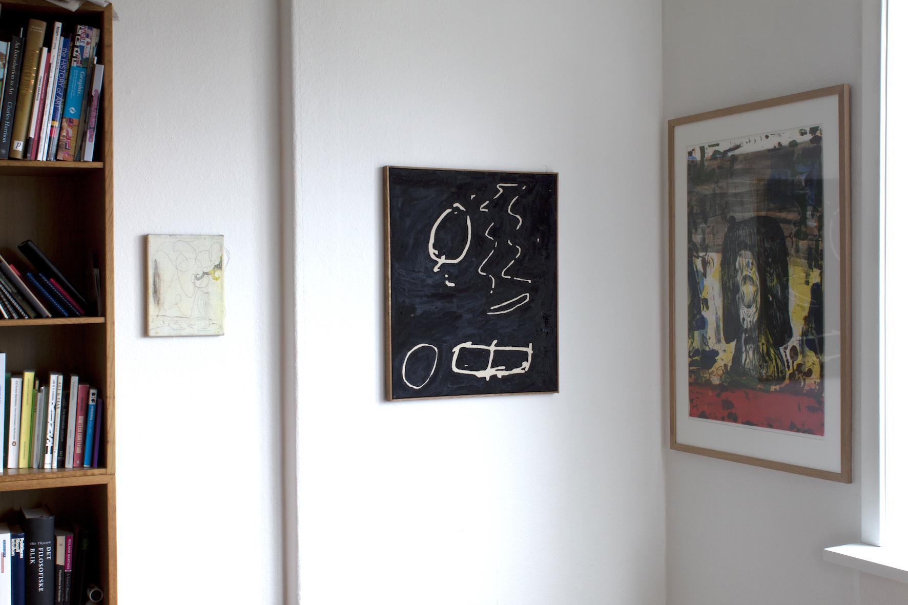 Morten Knudsen, Wolfgang Voegele and Tal R