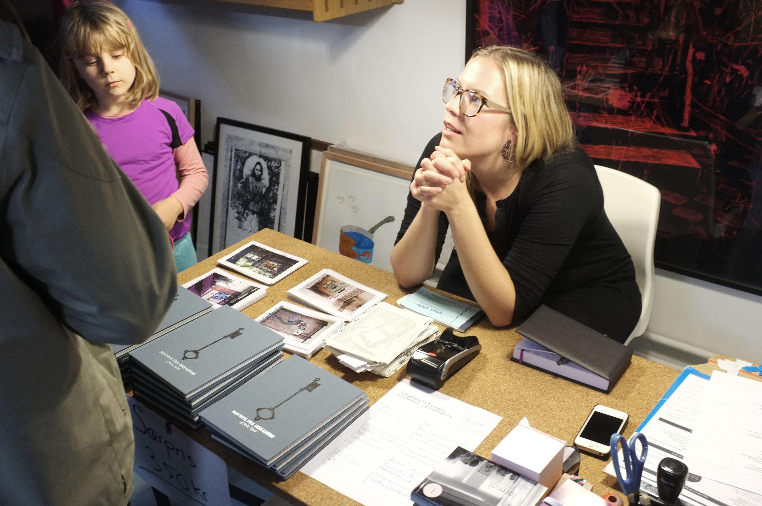 Anne Riber in Format Artspace