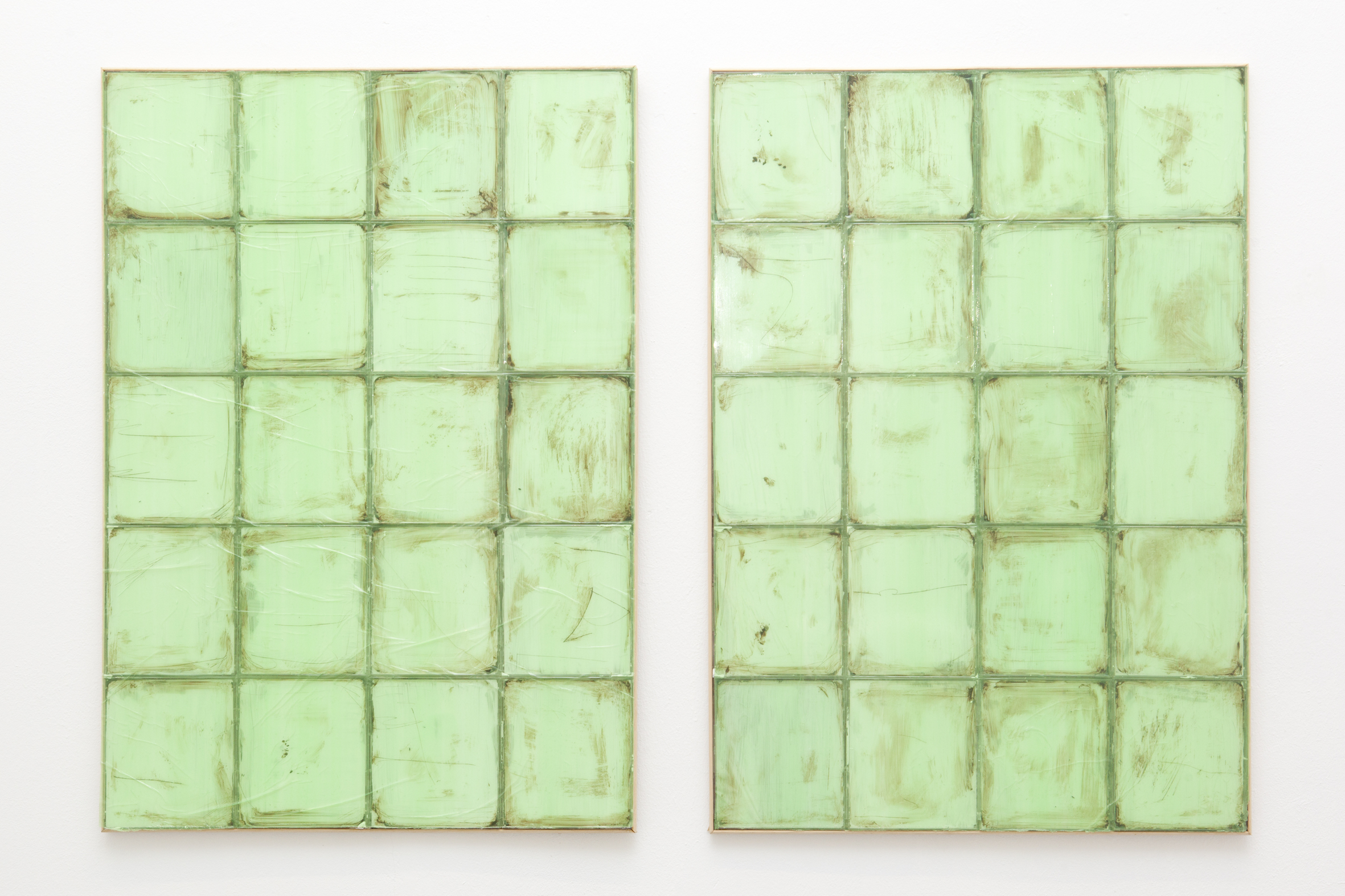 Gert Scheerlinck, Untitled (green tiles)