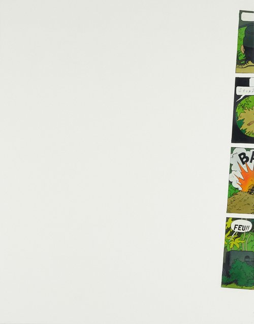 Sophie Ullrich, Tintin Nr. 2, 2015, Oil on canvas, 140 x 110 cm