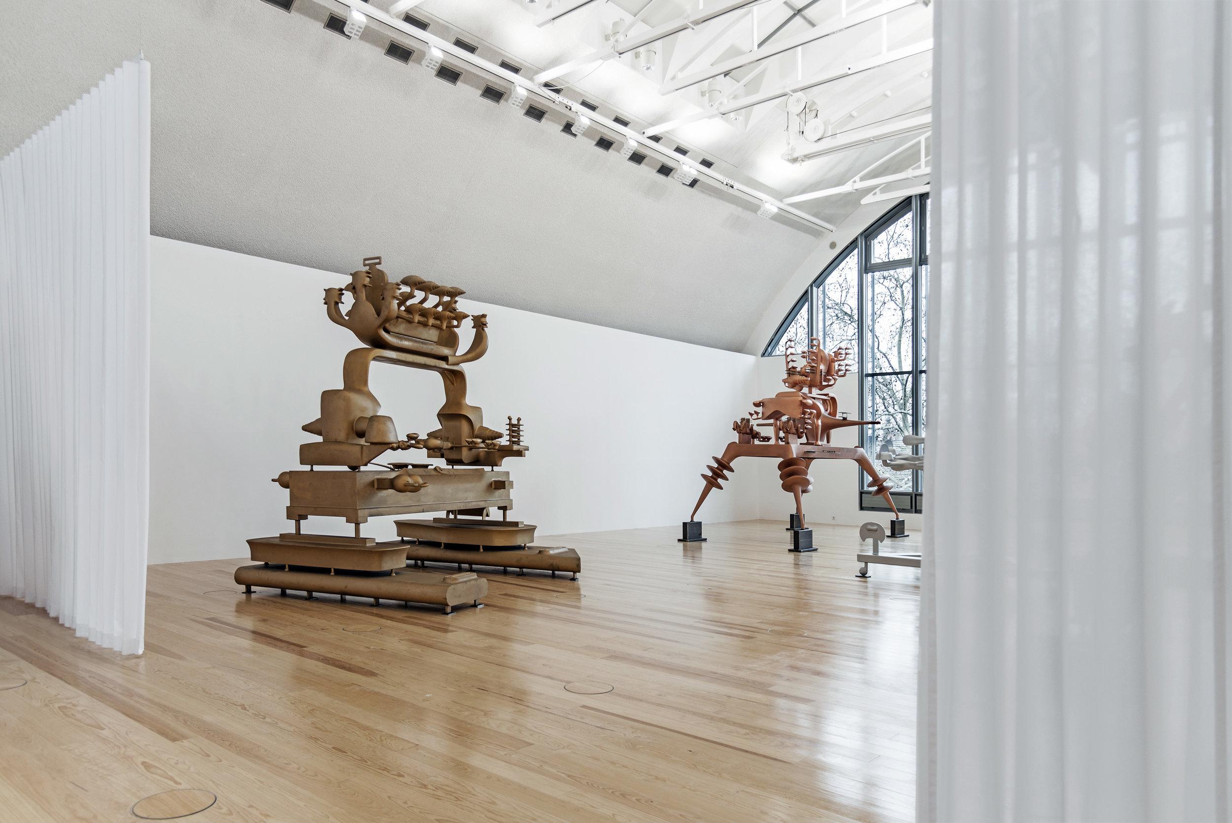 Bruno Gironcoli, Prototypen einer neuen Spezies, Ausstellungsansichten, Schirn Kunsthalle Frankfurt, 2019, Fotos: Hans Christian Krass