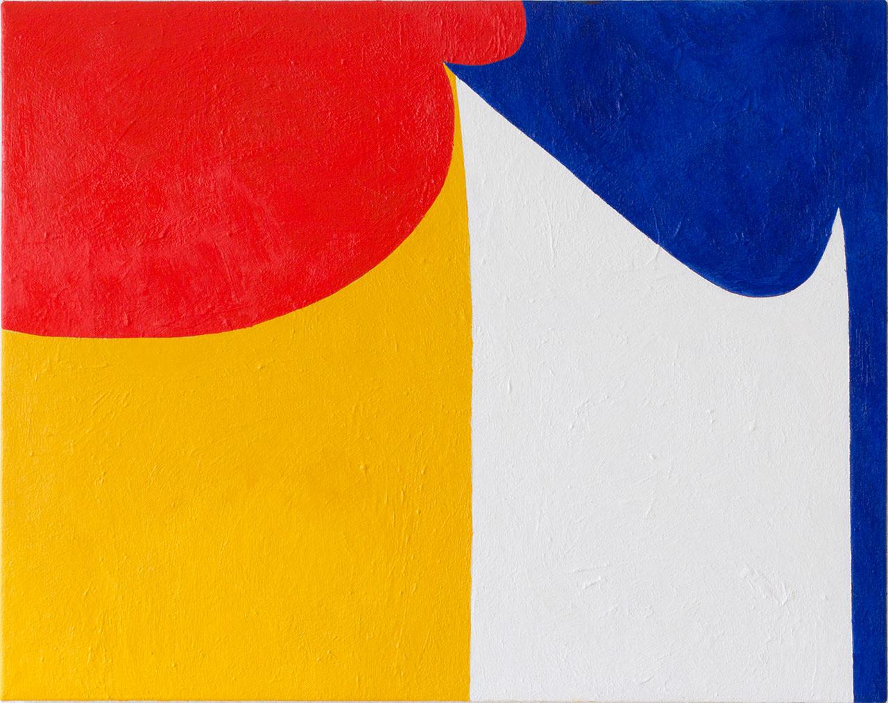 Wilhelm Beermann  Ohne Titel, 2015 Oil on Canvas 47 x 64 cm 1.780 EUR
