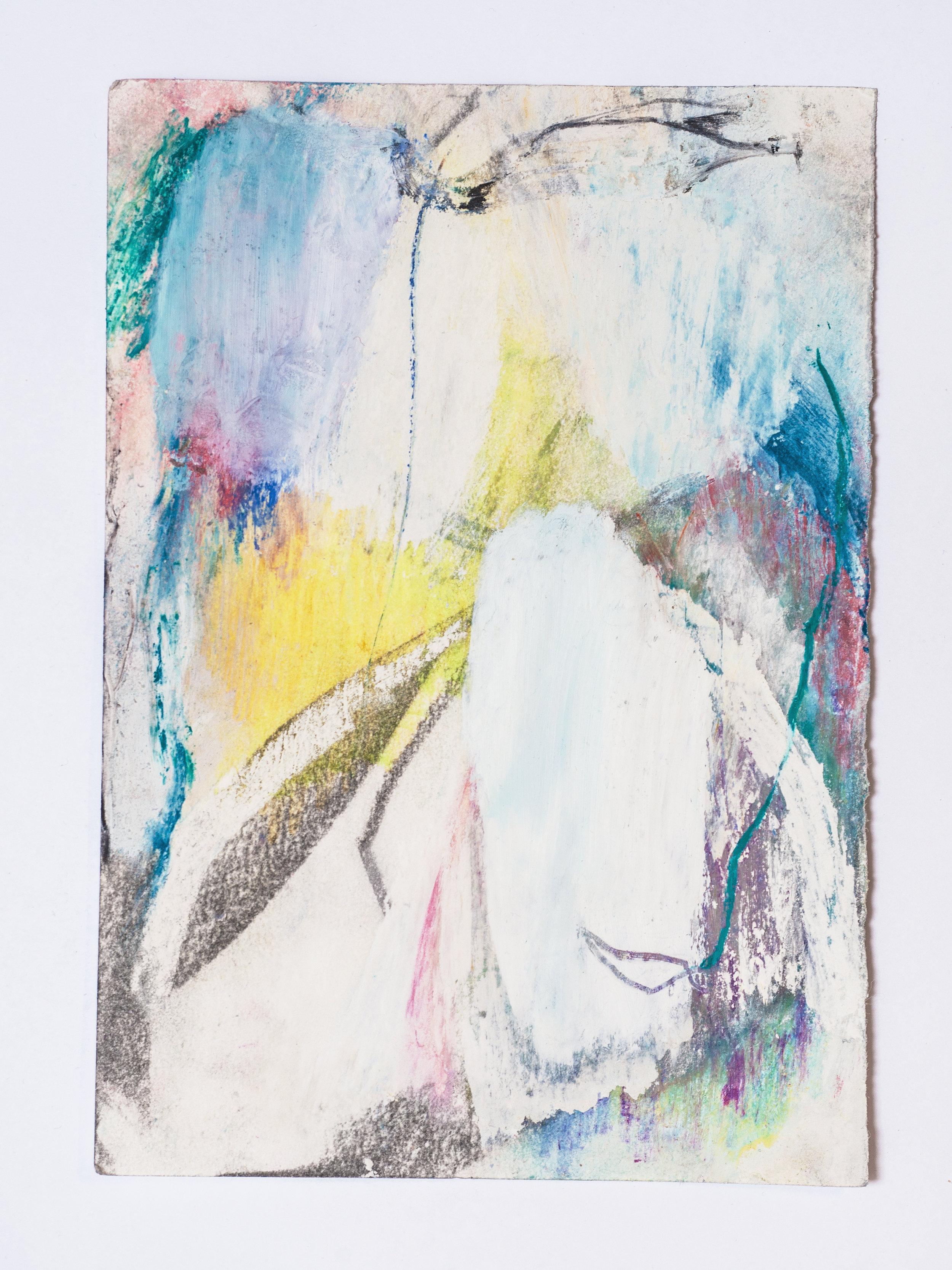Sophie Heinrich  Untitled, 2018 Oil and Pastel on Paper 21 x 14 cm 480 EUR