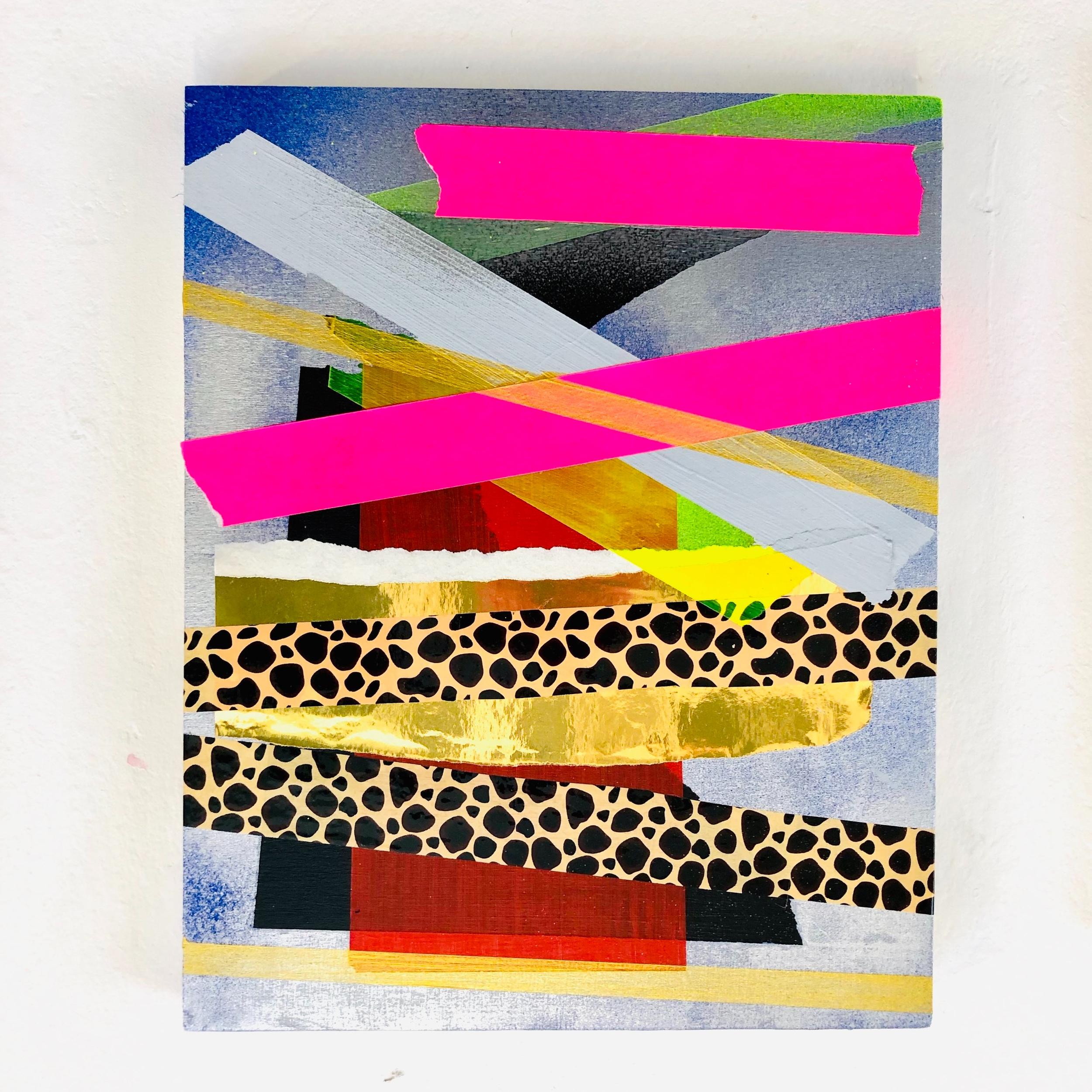 Michal Raz  Dag / Namer Mixed Media on Wood 20 x 25 x 0,3 cm 550 EUR