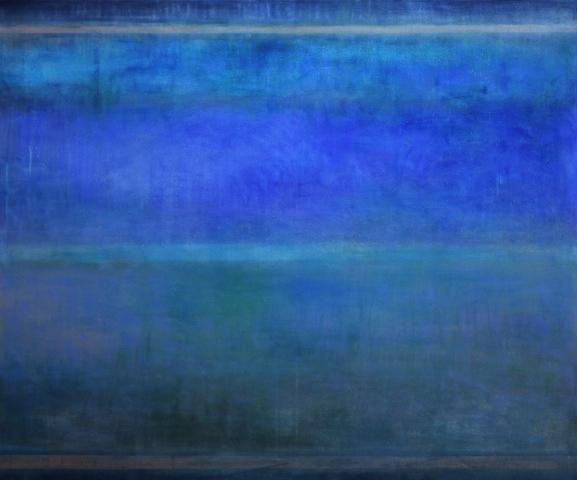 Ohne Titel, 2013 Öl auf Leinwand 100 x 120 cm