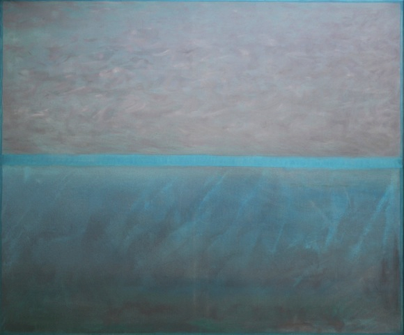Nicht hier, nicht dort 2, 2017 Öl auf Leinwand 100 x 120 cm