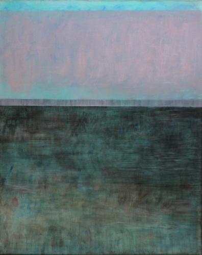 Ohne Titel, 2017 Eitempera und Öl auf Leinwand 80 x 100 cm