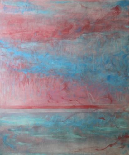 Ohne Titel, 2017 Quadriptychon 2 Eitermpera und Öl auf Leinwand 100 x 120 cm