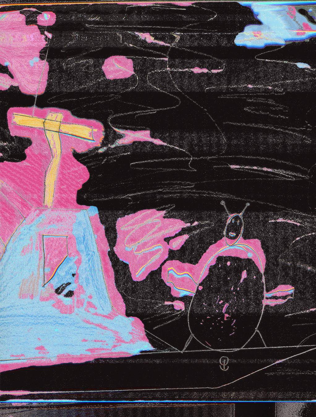 TYT_03, 2018 Inkjet on canvas 90 x 67 cm Edition of 50 480 EUR