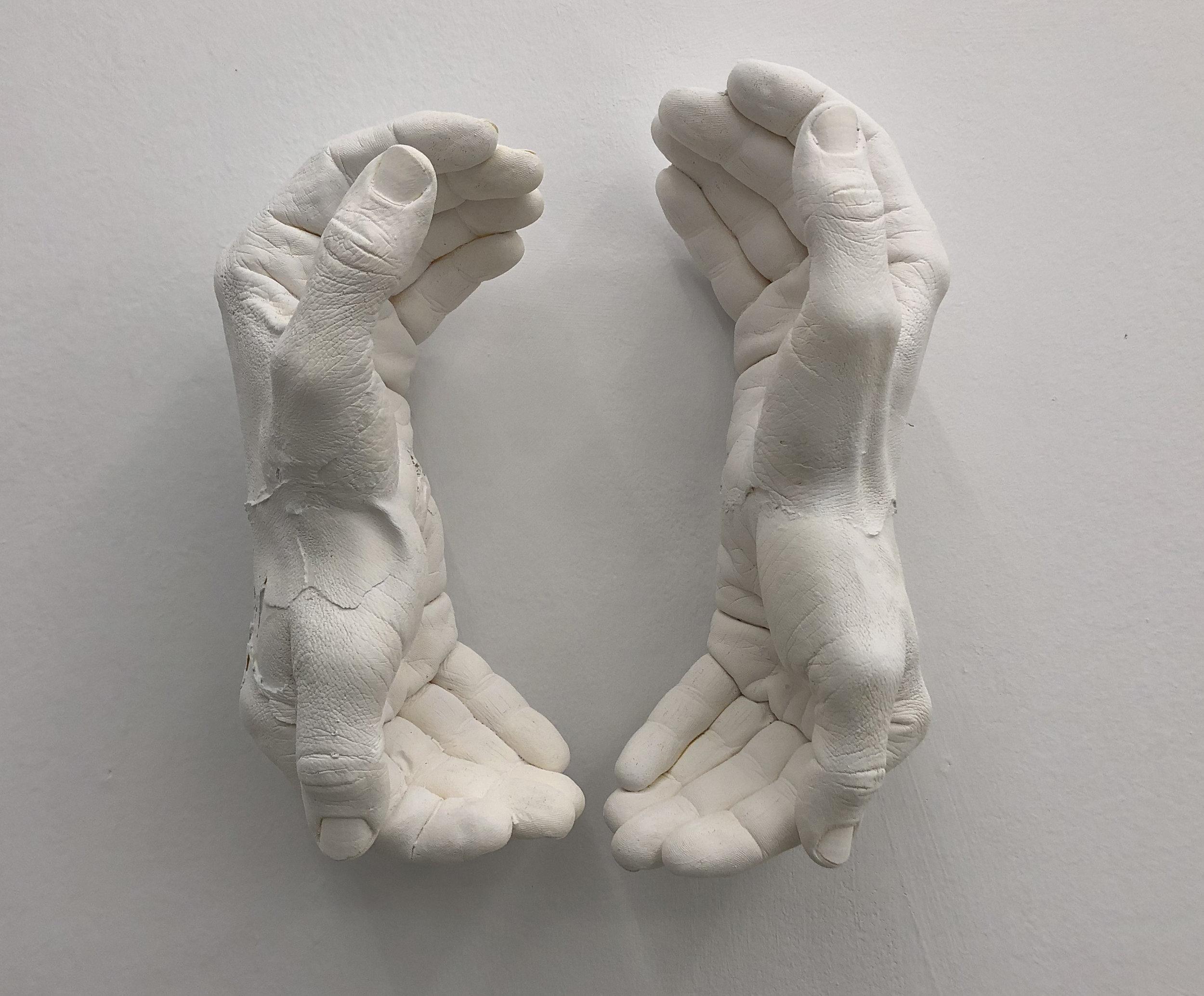 Amparo Sard, 4 Hands, 2019, Series: Precarious reactions