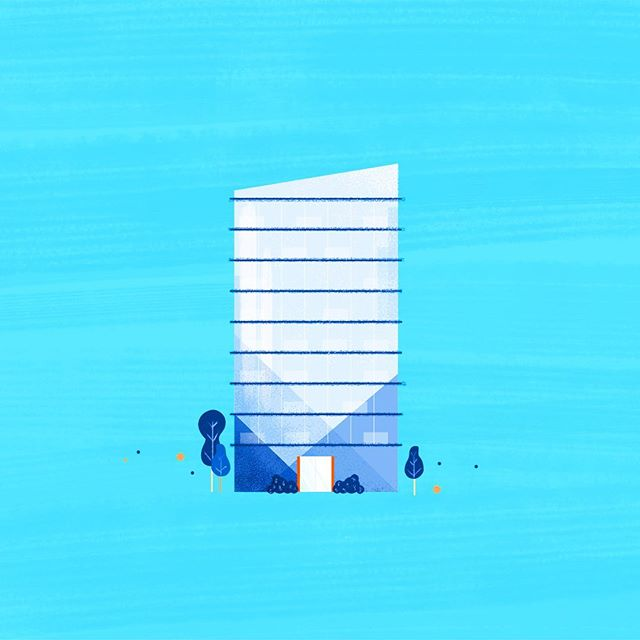 fUn wiTh corPoraTe aRchiTecTurE . . . . . . . #architect #architecture #styleframe #mograph #dribbble #design #illustration #graphicdesign #designer #skyscraper #building #modernarchitecture #blue #draw #art #landscaping #cityscape #infographic #video #mgfx #explainer #conceptframe #style #designstyle #illustrationstyle #environmentdesign #environment #motiondesign
