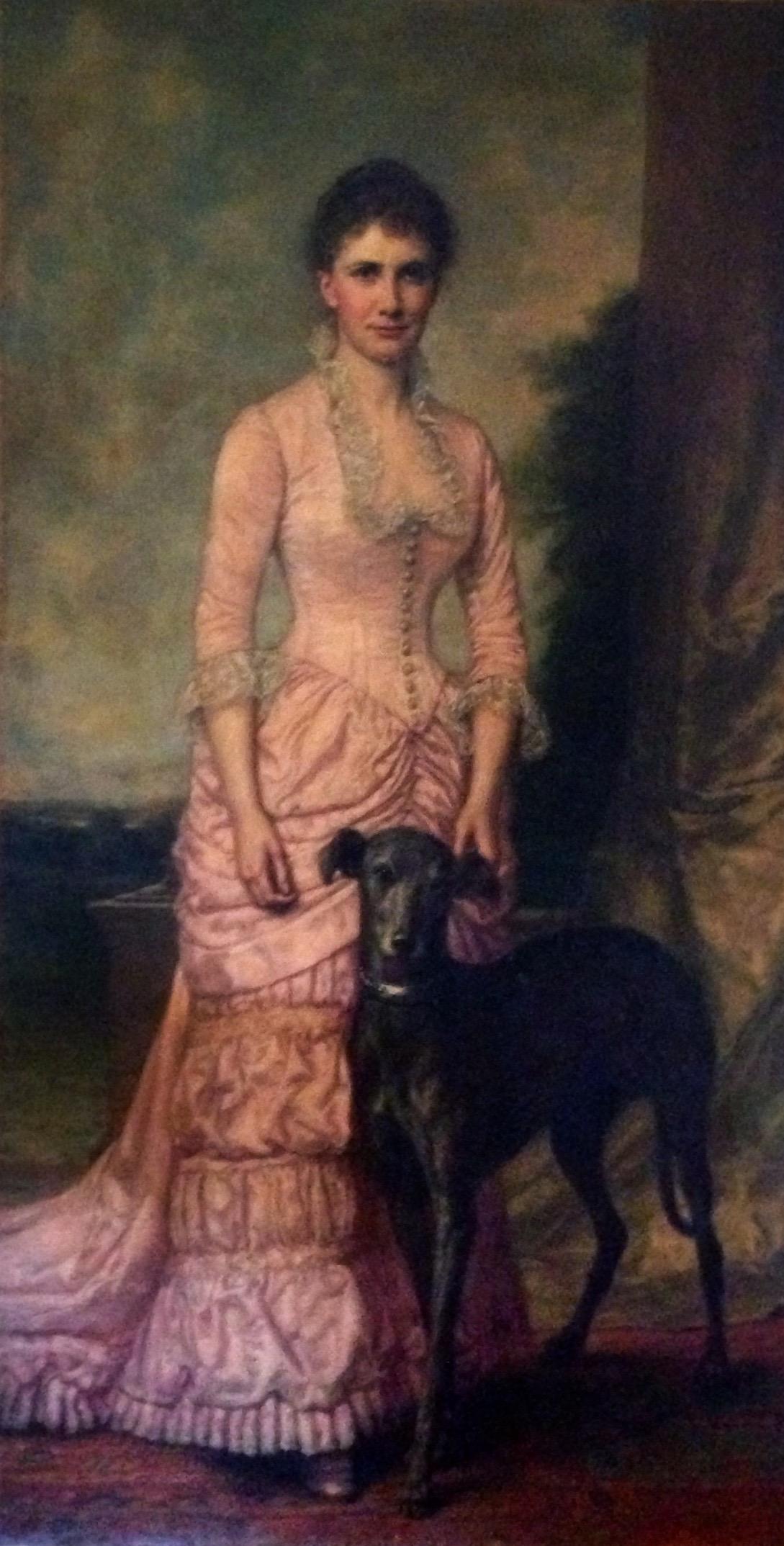Cornelia Fenton Conway Horsford (Daughter of Dr. Eben Horsford) circa 1884