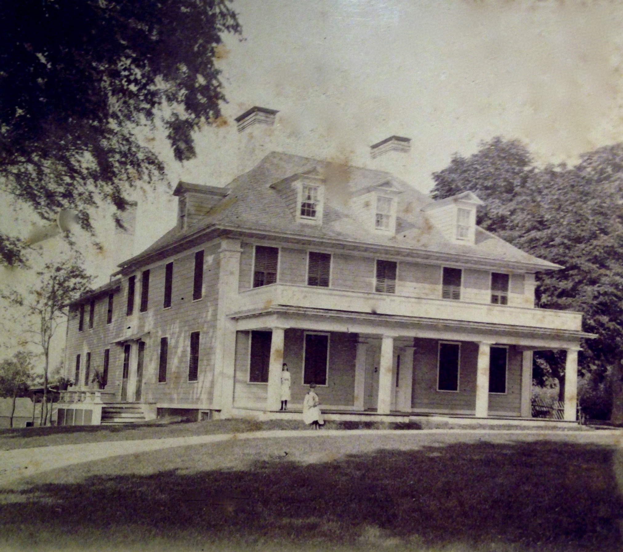 18th Century photograph of the Sylvester Manor