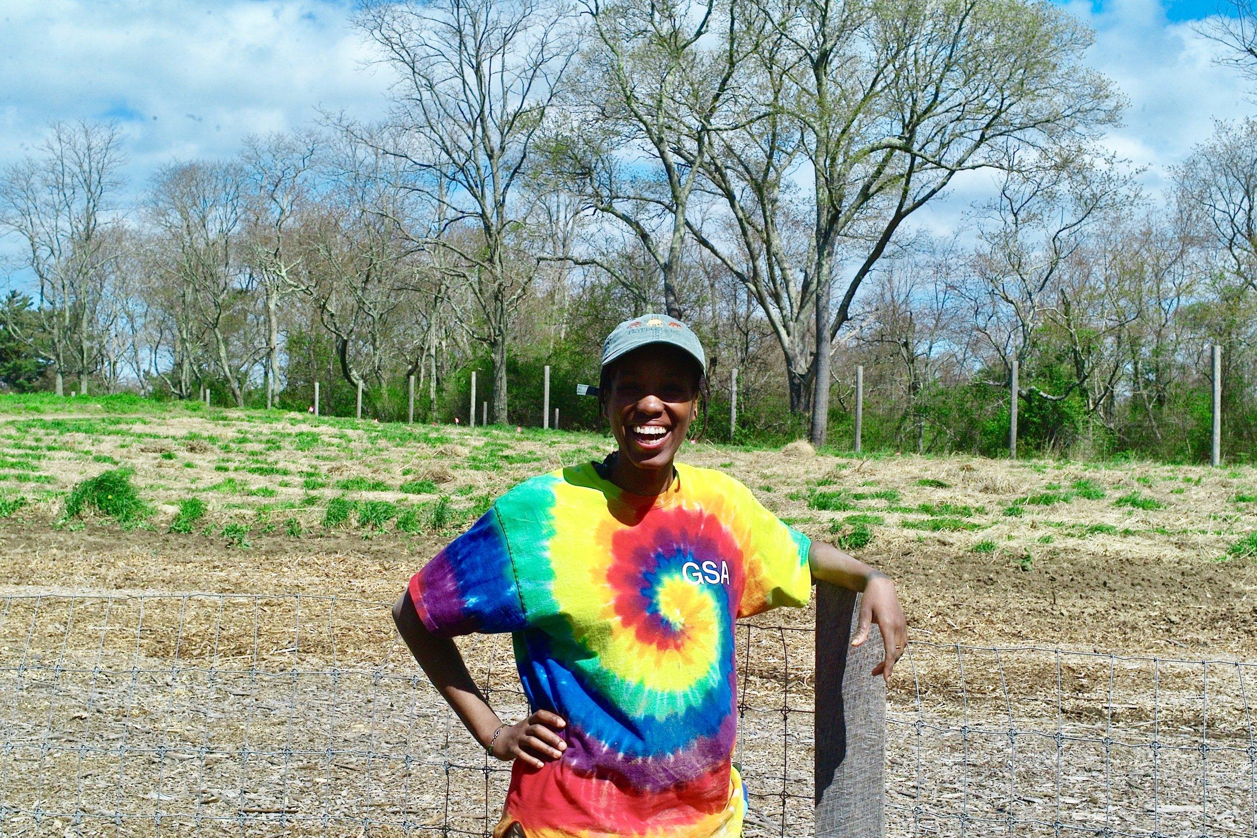 Sifeziwe Ntshangase,   Farm Apprentice