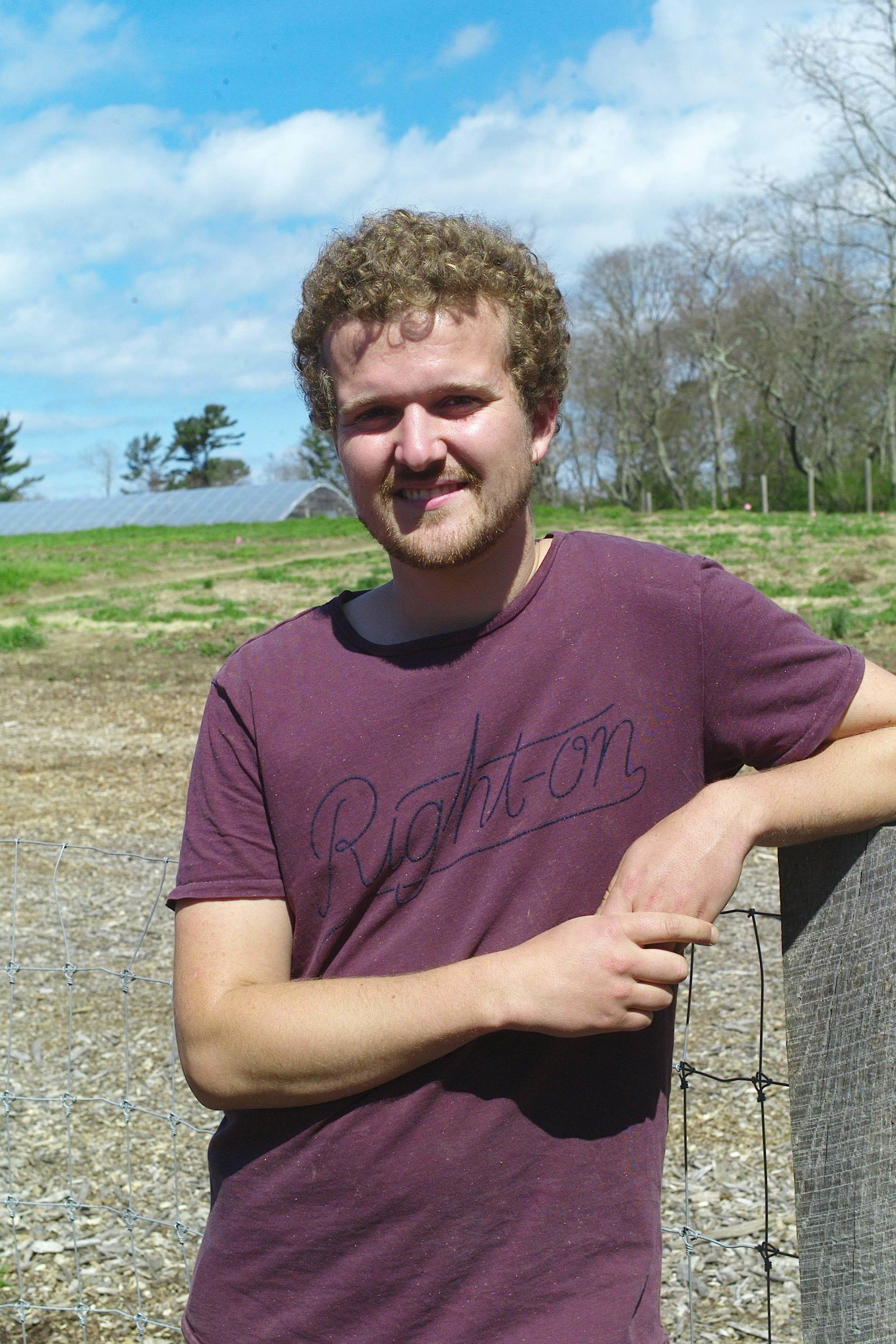 Thomas Van Huffel,   Farm Apprentice