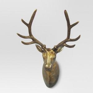 Deer Bust Wall Sculpture