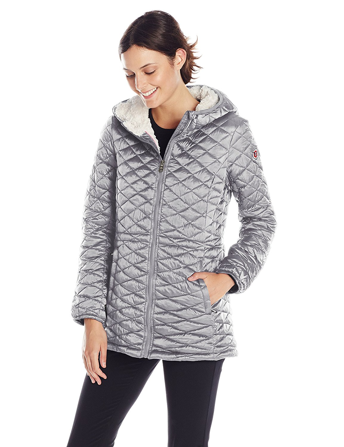 Silver Quilted jacket