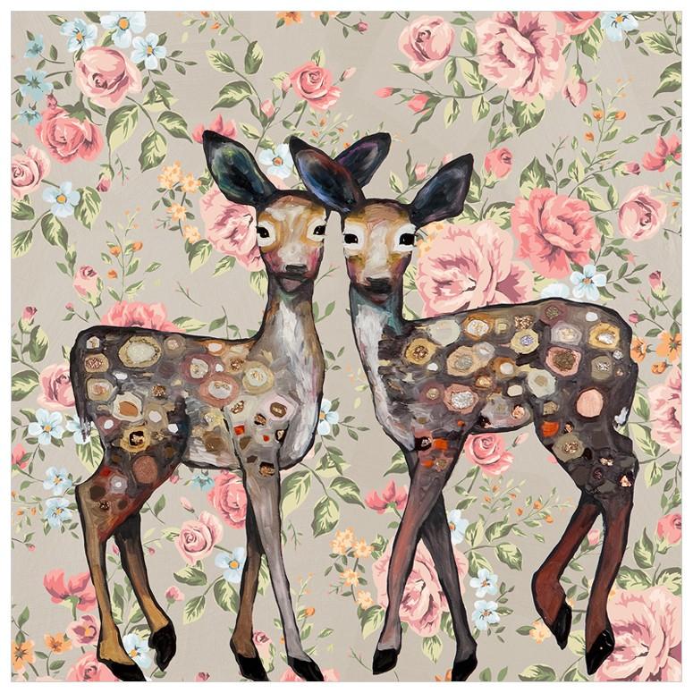 Deer Print for Girls Room
