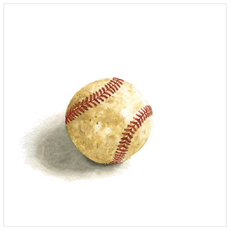 Baseball Boy Art