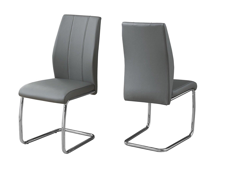 Grey & Chrome Chairs