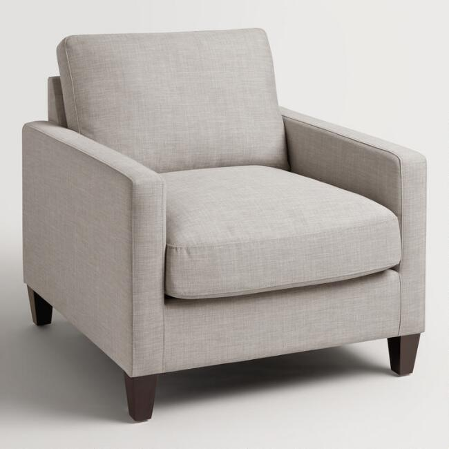 Copy of Textured Grey Woven Chair