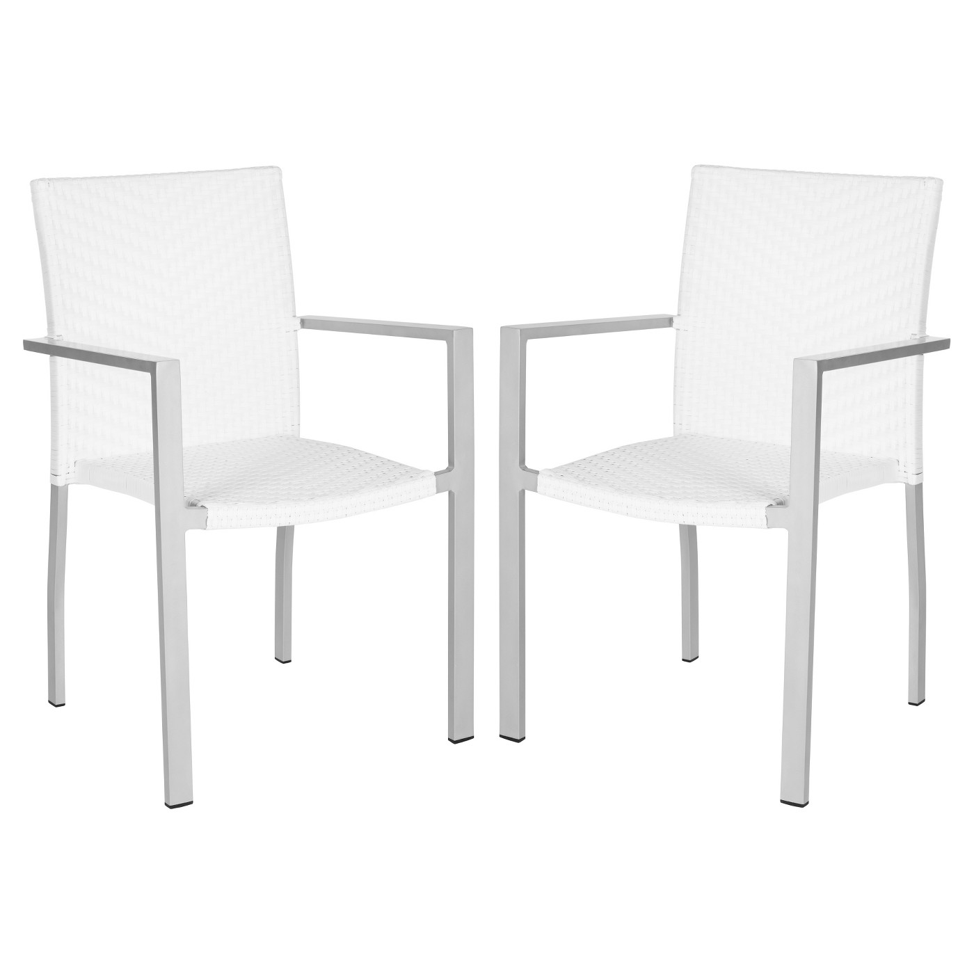 White outdoor chairs