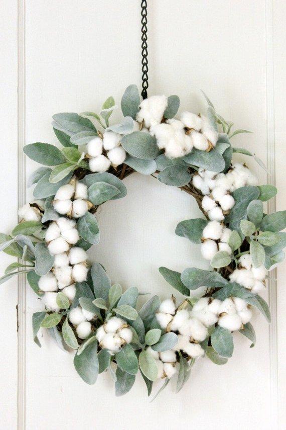 Lambs Ear Wreath