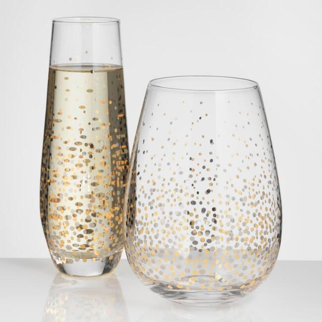 Copy of Festive Glassware