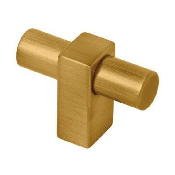T gold Knob