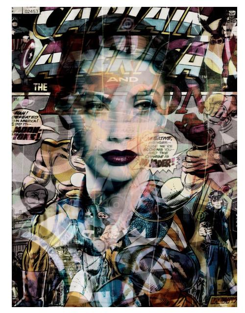 "'All Star' 2016 ©Valerie Belin. Courtesy of Edwynn Houk Gallery. 68"" x 51""."