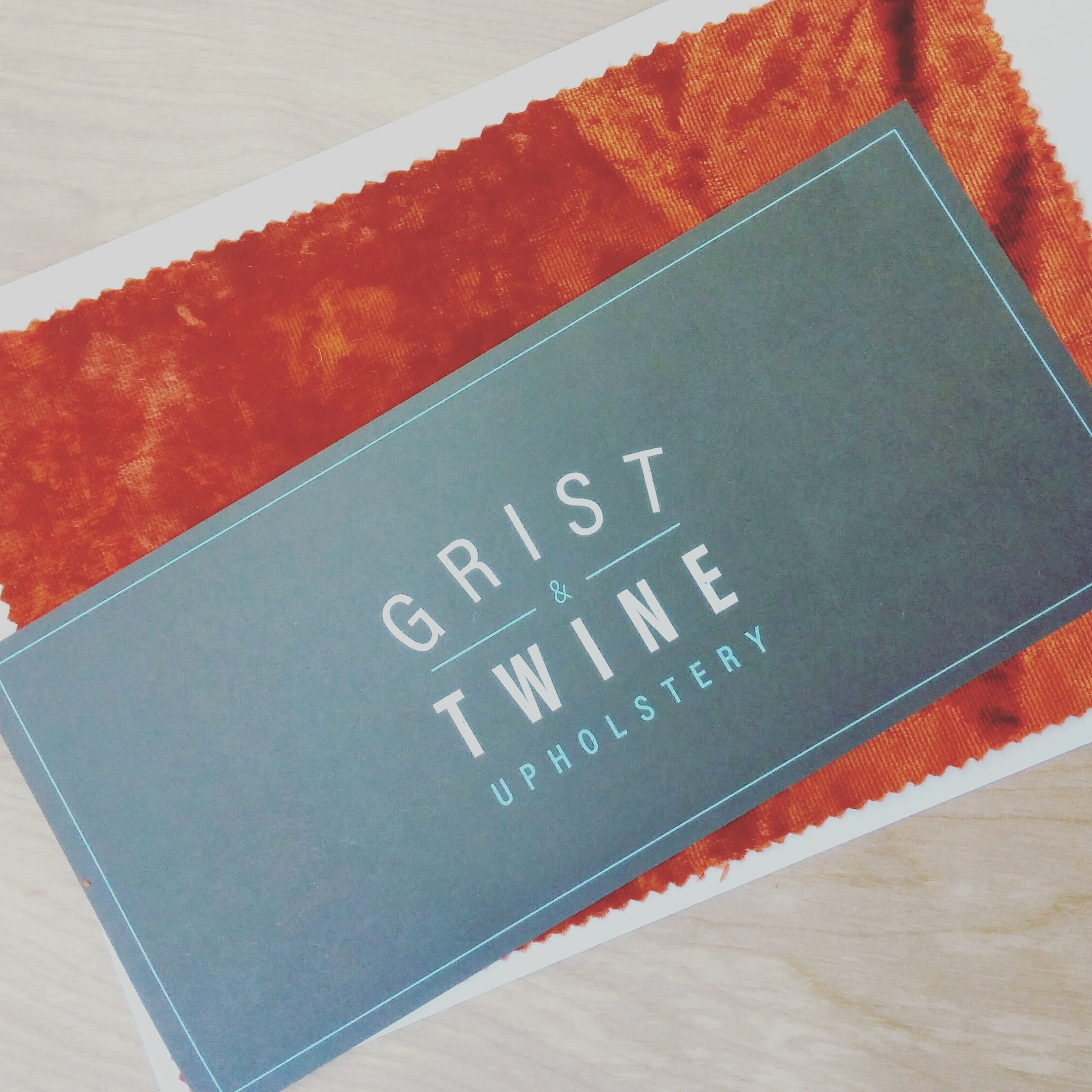 Grist & Twine fabric sample