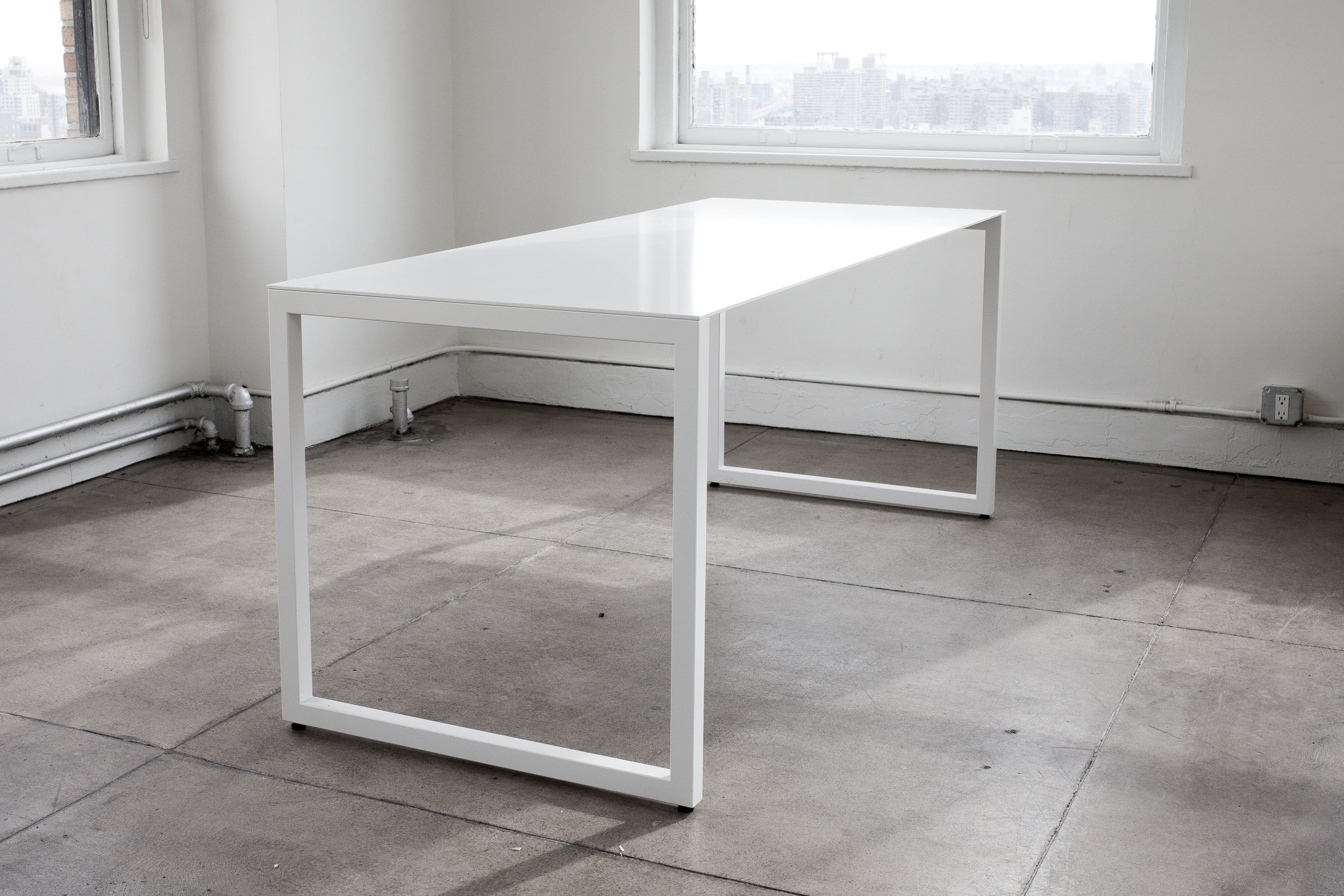 Shown:  Slim Line Table