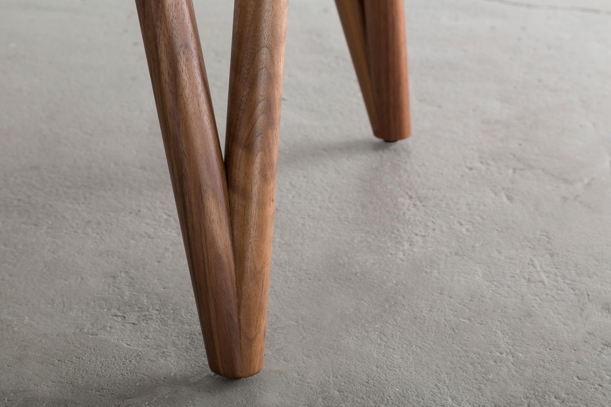 Hair Pin Table 42 by David Gaynor Design