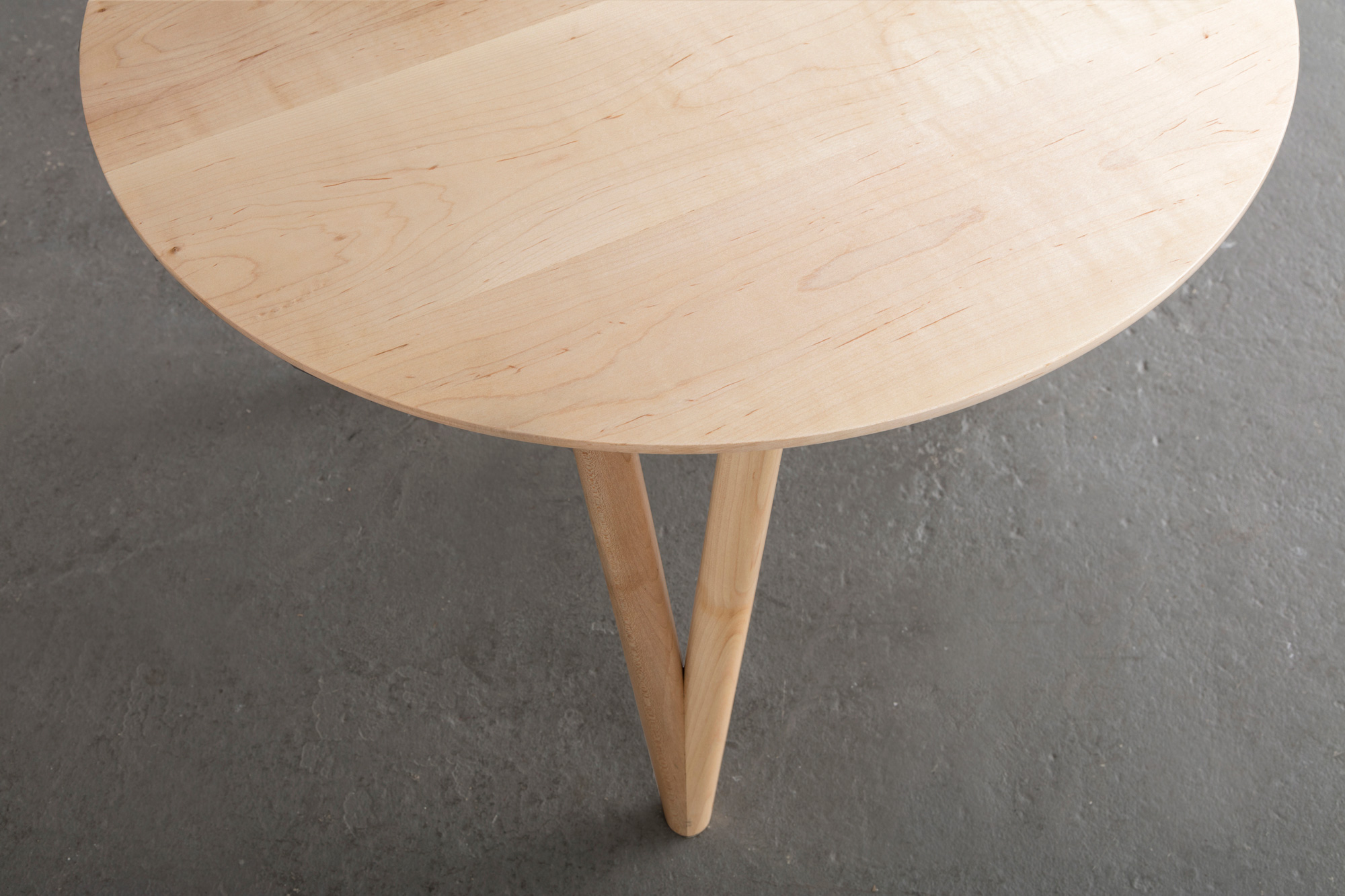 Hair Pin End Table by David Gaynor Design