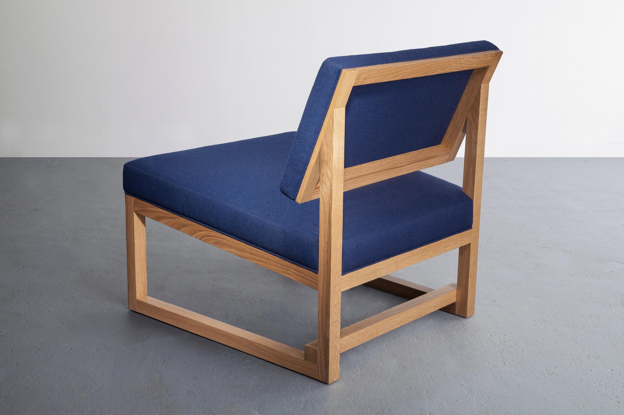 SQ3 Lounge Chair by David Gaynor Design