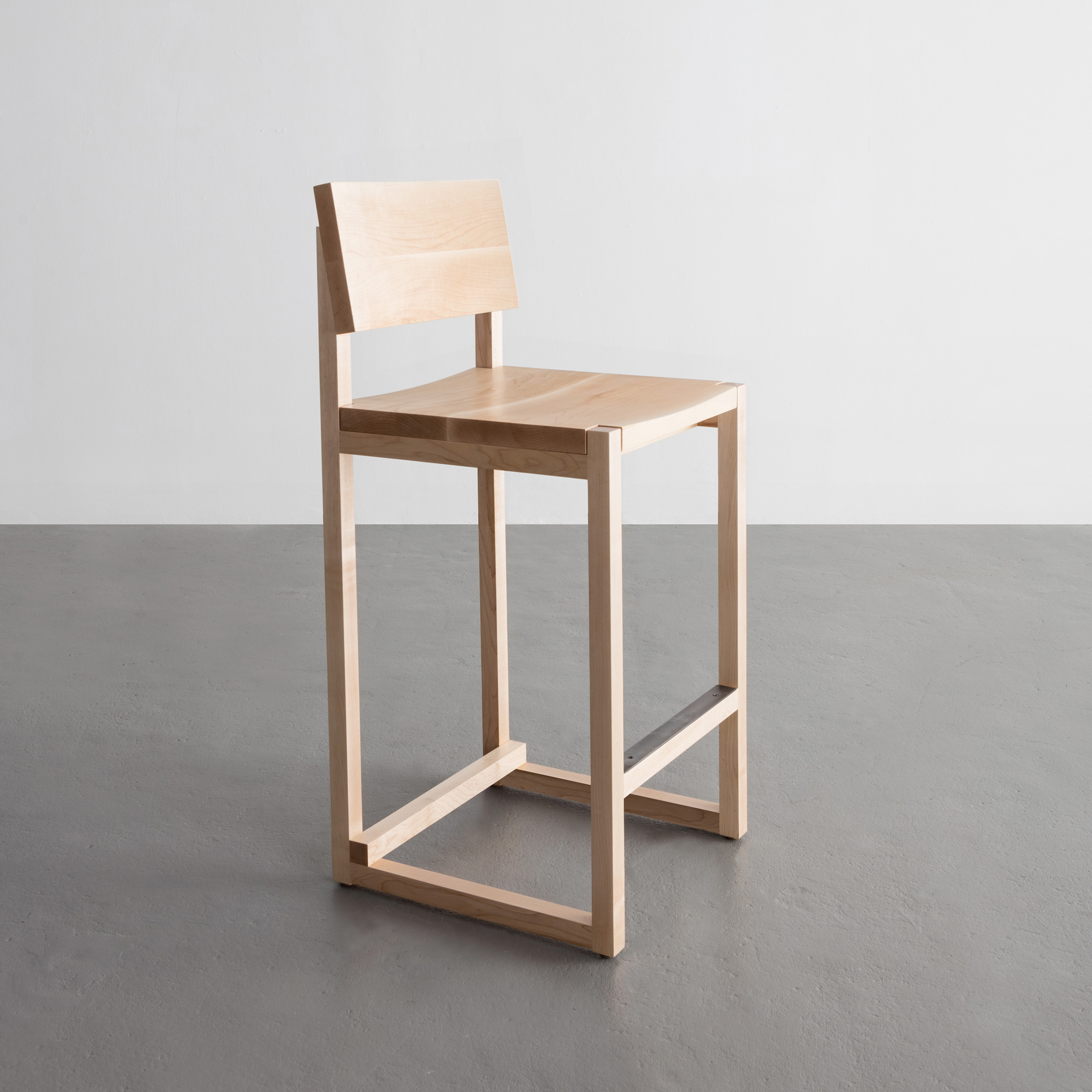 SQ Counter Stool in maple