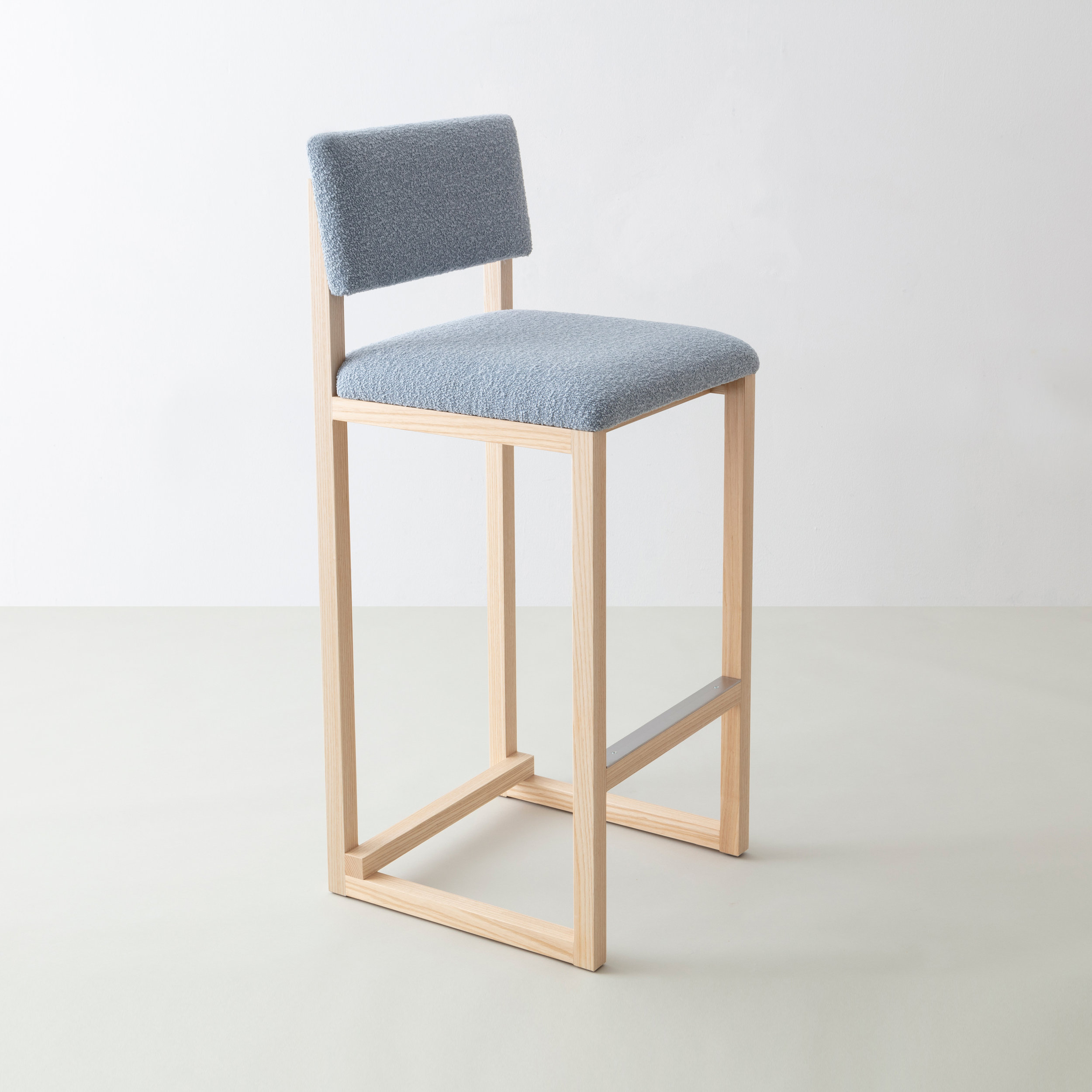 SQ Upholstered Bar Stool