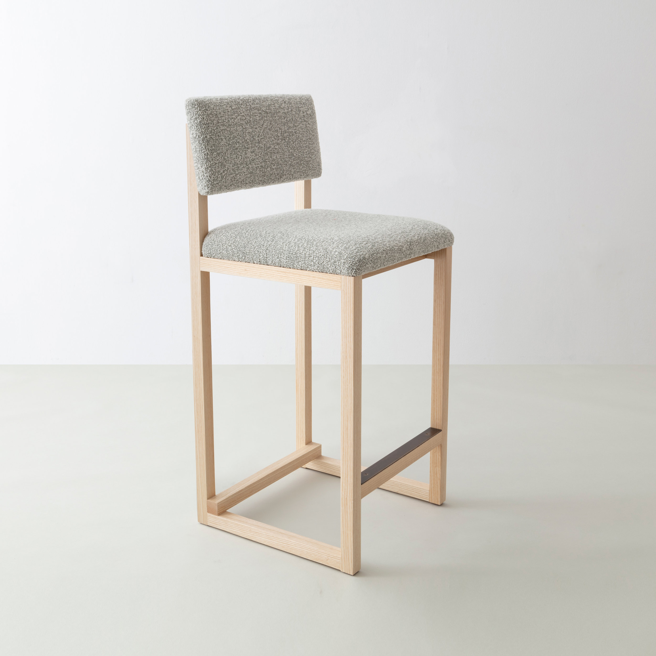 SQ Upholstered Counter Stool